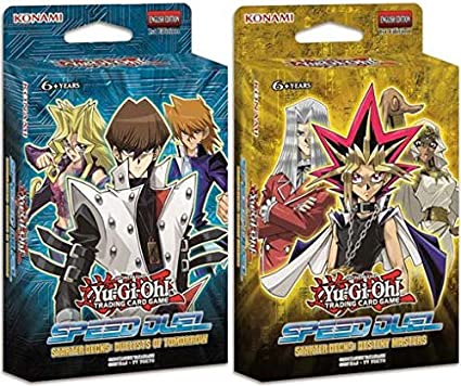 Yugioh Speed Duel Dueling Starter Decks - Destiny Masters & Duelists of Tomorrow