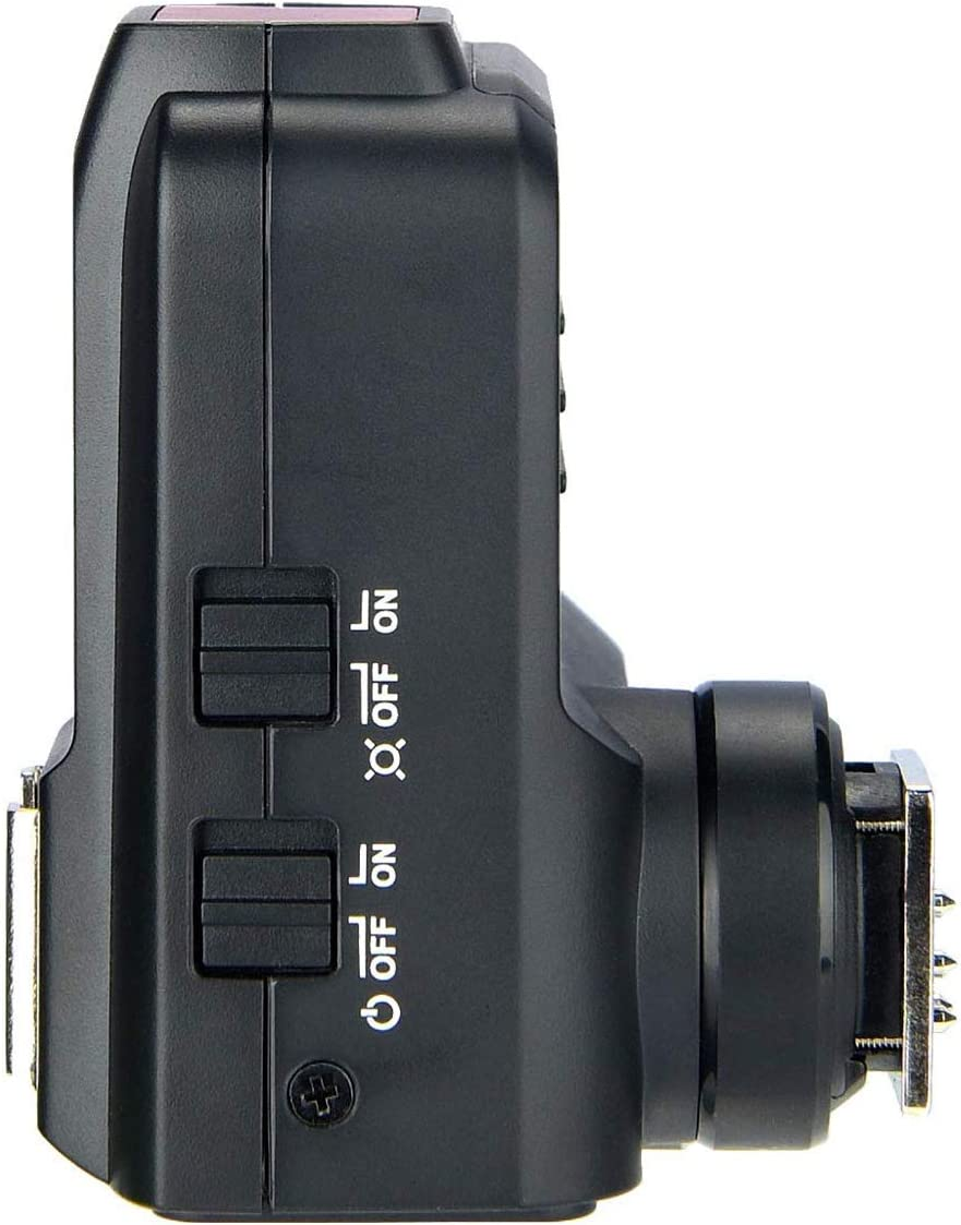 Built-in Bluetooth TCM Function Separate Group Backlit Buttons AF Assist Button. Designed with Quick-Release Hotshoe Lock Godox X2T-N TTL Wireless Flash Trigger for Nikon 1//8000s HSS
