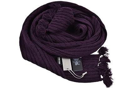 bbfcfdf5abc7 Tom Ford Écharpe Homme Pourpre violet Plaine Cachemire 320 cm x 10 cm   Amazon.fr  Vêtements et accessoires
