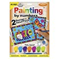 Royal Brush My First Paint by Number Kit, 8.75 by 11.375-Inch, Happy Bugs, 2/Pkg