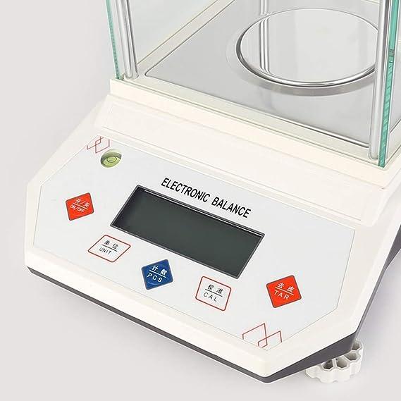 JJHR Jewelry Scale 500/0.001G Analisis Digital Balanza Analítica De Laboratorio De Alta Precisión \ Balanza De Joyería \ para Farmacia De Laboratorio 0.001G ...