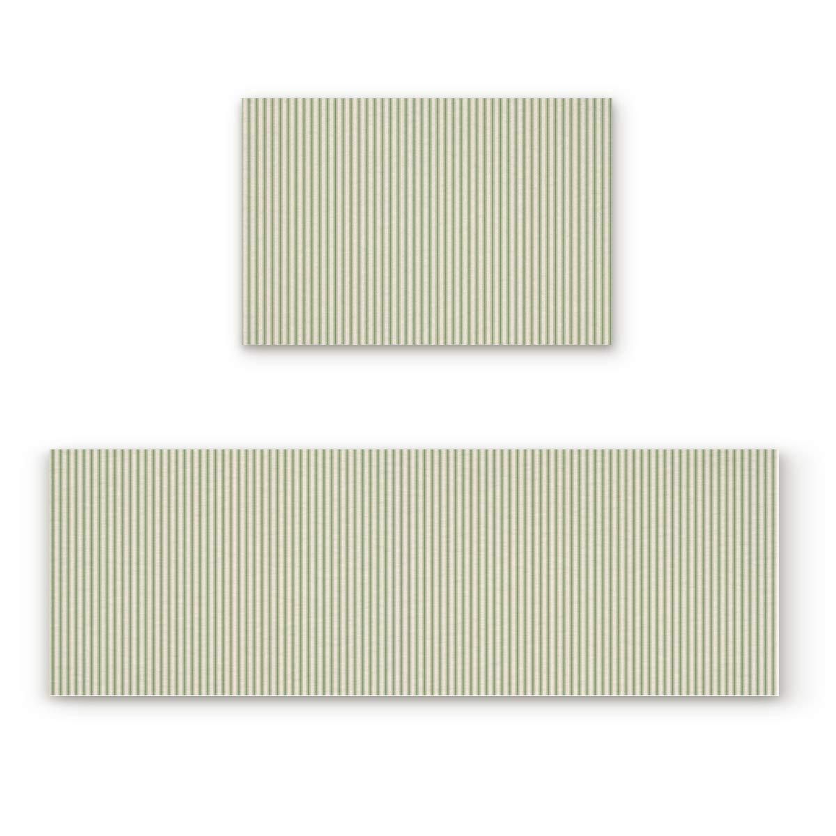 Stripe61fiy2880 15.7x23.6In+15.7x47.2In Findamy Non-Slip Indoor Door Mat Entrance Rug Rectangle Absorbent Moisture Floor Carpet for colorful Sea World Pattern Doormat 23.6x35.4In+23.6x70.9In
