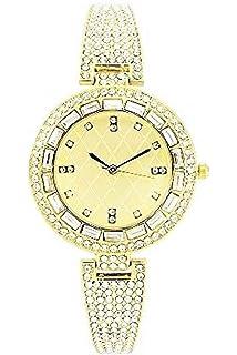 b2648dc07c58 Shine Like a Diamond!! Bling Bling Ladies Rhinestone Dainty Watch - ST10151  Gold