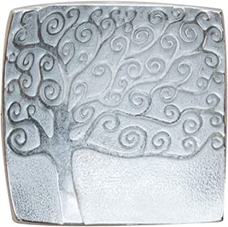 product image for DANFORTH - Vilmain - Tree of Life - Tray - Jewelry Dish - Pewter - 2 1/8 Inches Square - Made in USA