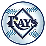 "Sports and Tailgating MLB Party Tampa Bay Rays Cutout Decoration, Laminated Cardstock, 12"", Pack of 1"