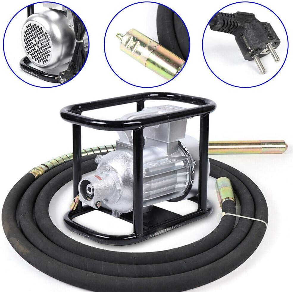 1500W Cemento de Hormig/ón El/éctrico Vibrador de Hormig/ón de Cemento El/éctrico /Ø50mm Vibrador de Hormig/ón