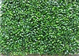 Artificial Box Wood Mat Greenery Panels-dark Green 15x23 Inches
