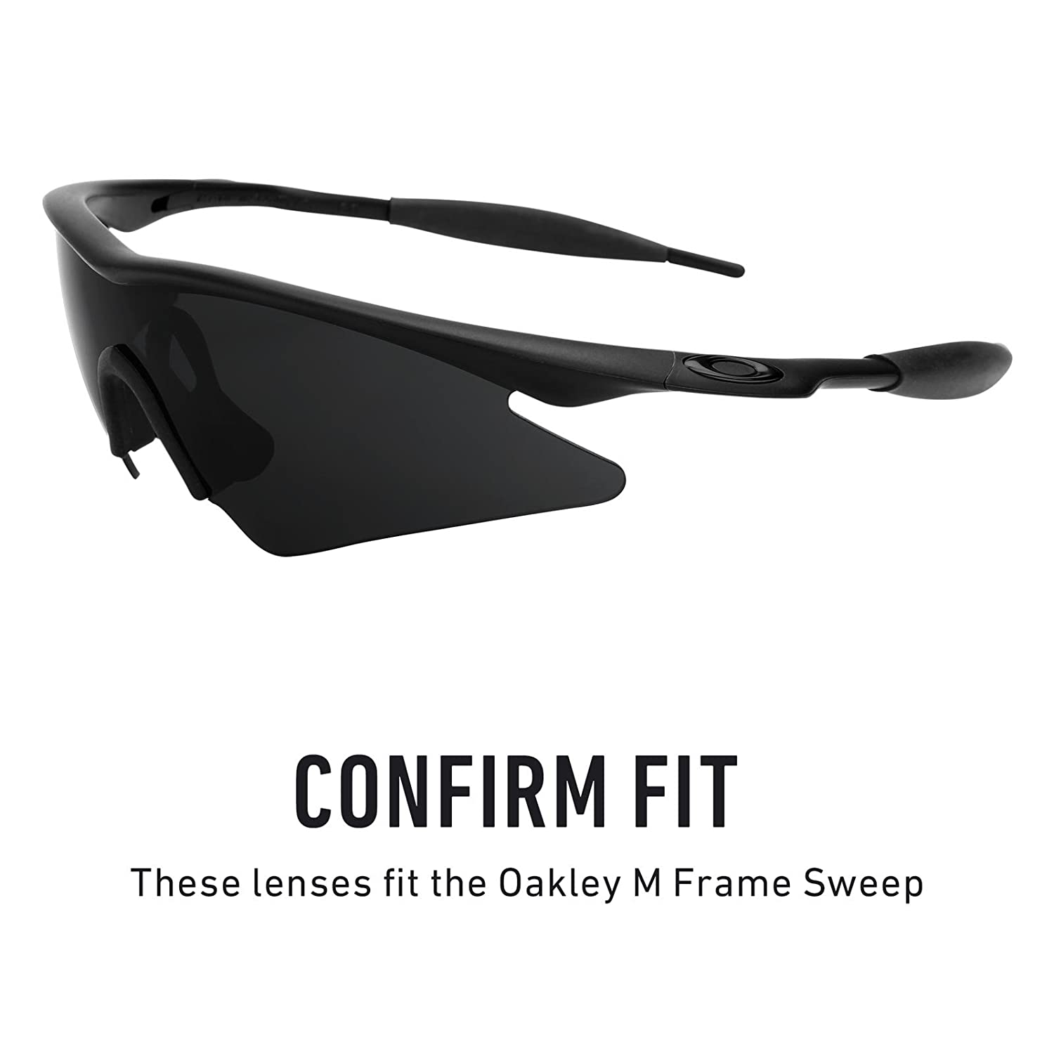 Revant Replacement Lens for Oakley M Frame Sweep Black Chrome ...