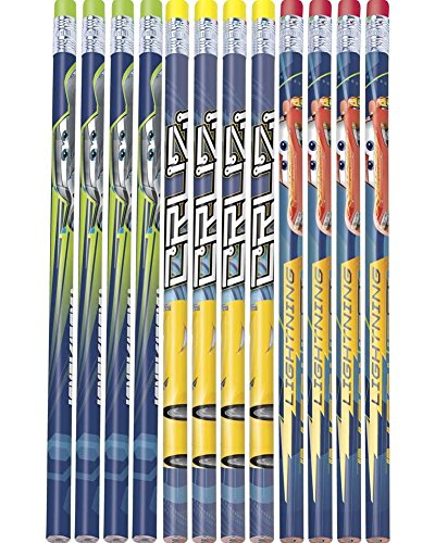 Disney Cars 3 Pencils 12 pack Birthday Party Supplies ()