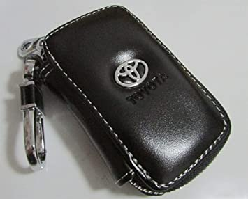 Black Car Key Bag Black Premium Leather Car Key Chain Coin Holder Zipper Case Remote Wallet Bag Black Premium Leather Car Key Chain Coin Holder Zipper Case Remote Wallet Bag
