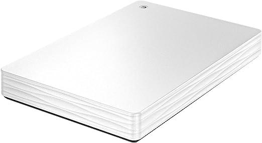 I-O DATA USB 3.1 Gen 1/2.0対応 ポータブルハードディスク 「カクうす Lite」 ホワイト 1TB HDPH-UT1WR