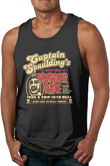Swaffy Tees 560 Captain Spaulding Funny Adult Tank Top