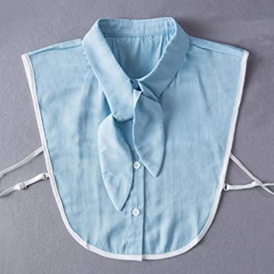 Corbata Frontal Collar Falso Mujer Collares Desmontables ...