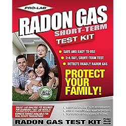 PRO-LAB Radon Gas Do It Yoursef Test Kit RA100