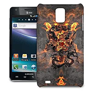 Phone Case For Samsung Infuse 4G - Dragon Knight Hard Cover