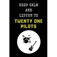 Keep Calm And Listen To Twenty One Pilots: Composition Note Book Journal