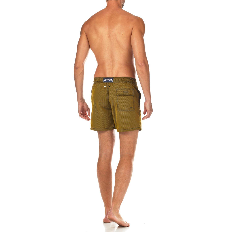 Vilebrequin Micro Rayures Graphic Swim Shorts - Men - Turmeric - L by Vilebrequin (Image #3)