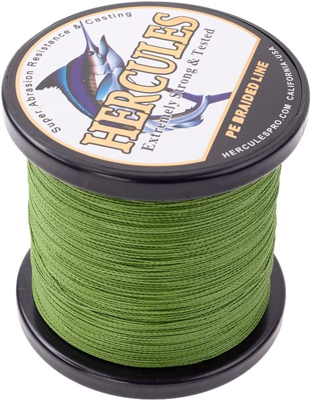 Brand Multicolor 1000M Extreme Strong Braided Fishing Line 10-80LB Freshwater//Sa