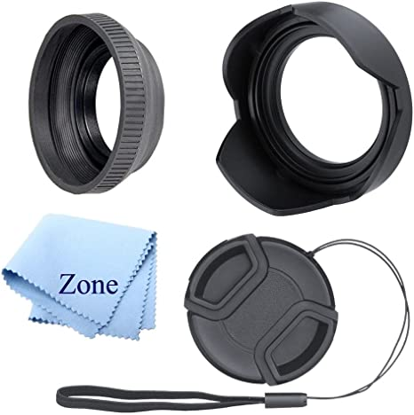 52mm Filter Set for Canon EOS 80D High Grade Multi-Coated /& Threaded UV1a, CPL, FLD