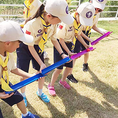 KINDEN Team Building Activities Pipeline Kit Group Games, Ice Breaker, Youth Sports