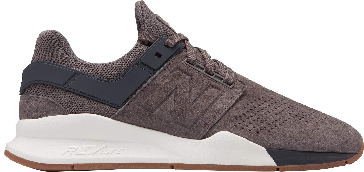 prix le plus bas 49fff 779ca New Balance - Mens MS247V2 Shoes, 9 UK - Width D, Dark Gull Gray/Sea Salt