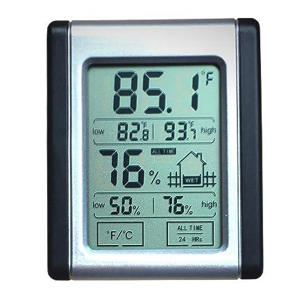00613 Humidity Monitor Indoor Thermometer Digital Hygrometer Gauge Indicator