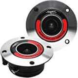 Skar Audio VX175-ST 1.75-Inch 400 Watt High Compression Aluminum Bullet Super Tweeters, Pair