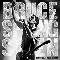 Bruce Springsteen 2019 12 x 12 Inch Monthly Square Wall Calendar by Live Nation, Rock Music Singer Songwriter Celebrity