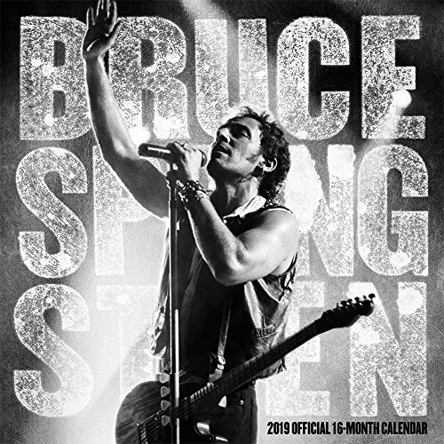 Bruce Springsteen 2019 12 x 12 Inch Monthly Square Wall Calendar by Live Nation, Rock Music Singer Songwriter Celebrity by BrownTrout Publishers