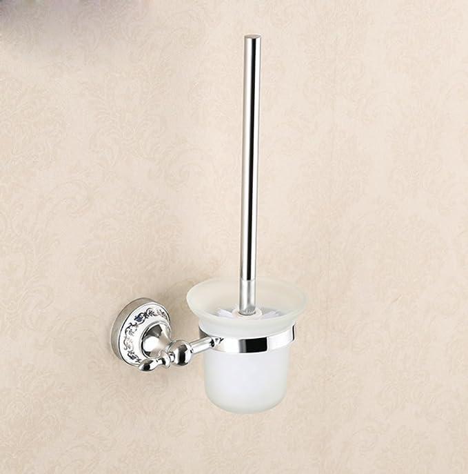 ZXY Acero inoxidable escobillero baño limpio escobilla set ...