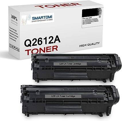 Smartomi Q2612a Toner 2x Schwarz Kompatibel Für Hp 12a Q2612a Für Hp Laserjet 1010 1012 1015 1018 1020 1022 1022n 1022nw 3015 3020 3030 3050 3052 3055 M1005 M1319 M1319f Bürobedarf Schreibwaren