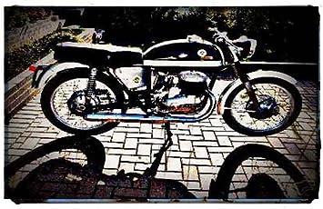 1969 Bultaco Metralla Bike Motocicleta A4 Foto Impresión Retro ...