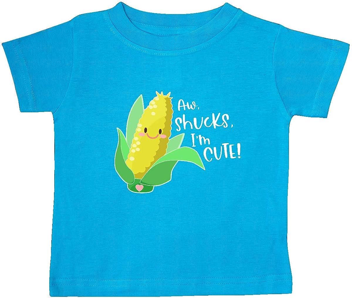 Im Cute Corn Humor Baby T-Shirt Shucks inktastic Aw