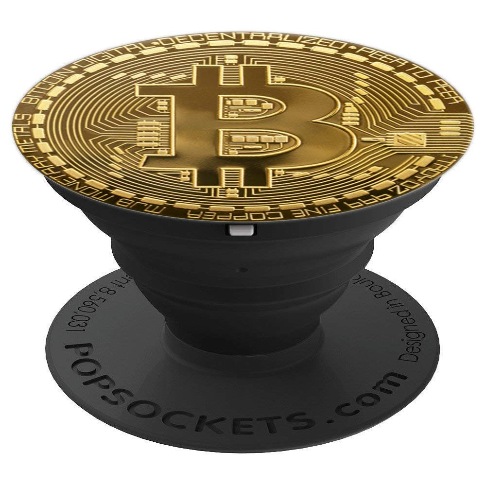 Amazon.com: Bitcoin Pop Socket - Crypto Currency - Digital ...