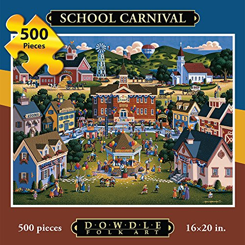 Dowdle Jigsaw Puzzle - School Carnival - 500 Piece for $<!--$16.99-->