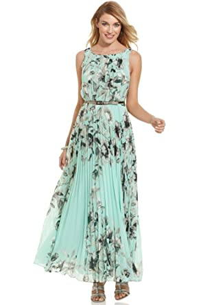 fe724289915 Miss Floral® Womens Sleeveless Floral Print Summer Maxi Dress Size 6-14   Amazon.co.uk  Clothing