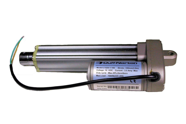 Linear Actuator,12VDC,112 lb.,4 In DUFF-NORTON LT100-1-100