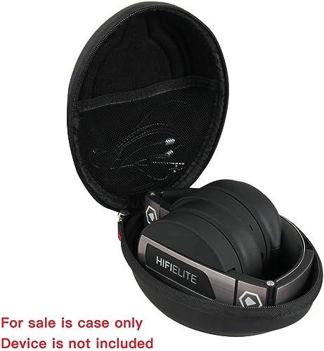Hermitshell Hard Travel Case Fits Premium Bluetooth Headphones – HiFi Elite Super66 by Modern Portable – Hi-Fidelity Over-Ear Wireless Headsets