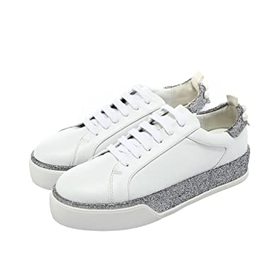 Chaussures Baskets Plate Lace Up Rondes Head Forme Basses Dames KJF1Tc3l