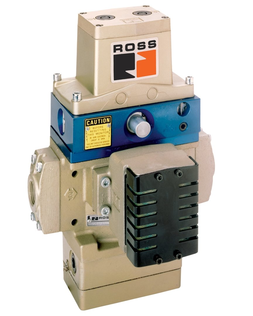 Ports 1//2 BSPP 110 VAC Ports 1//2 BSPP 110 VAC Dynamic Monitoring Memory Ross Controls D3573B4143Z 35//SERPAR Series Solenoid Controlled Valve D-S Monitor Type with Override