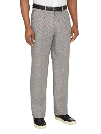 Paul Fredrick Men's Linen Patterned Pants at Amazon Men's Clothing Magnificent Mens Patterned Pants