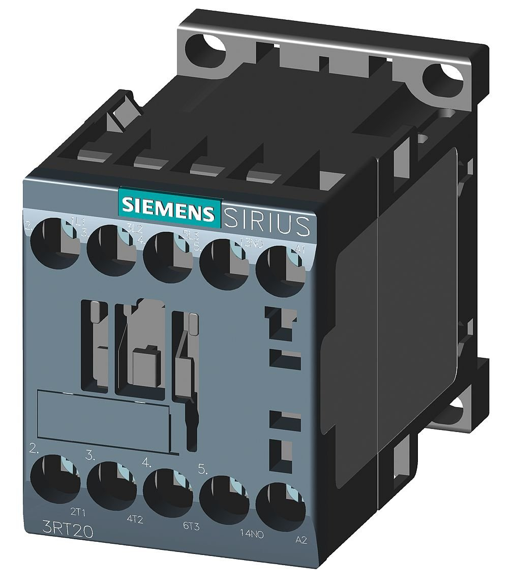 1NO 3-Pole AC 220V 50HZ 240V 60 HZ 4KW//400V SZ S00 Screw Terminal Siemens 3RT20161AP61 CONTACTOR
