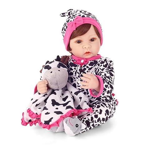 Haixin 22 pulgadas 55 cm Reborn, muñeca realidad bebé imán ...