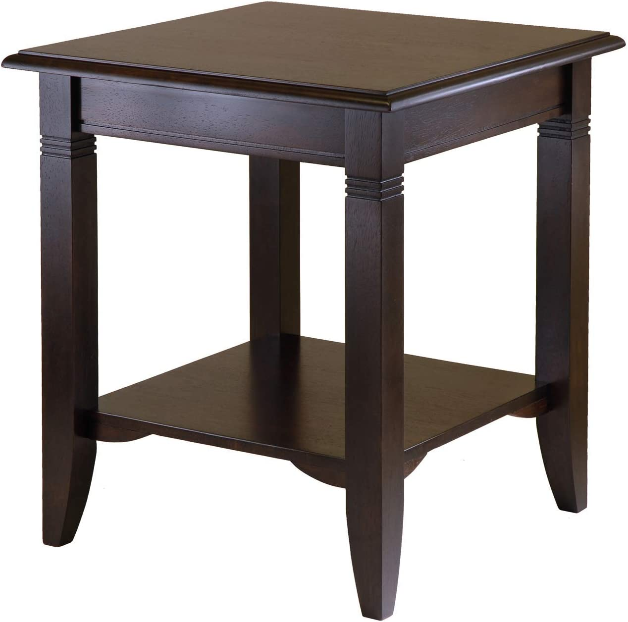 Winsome Wood 40220 Nolan Occasional Table Pack of 3 Cappuccino