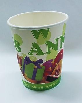 Takestop® Juego 72 unidades vasos Vaso de papel para fiestas ...