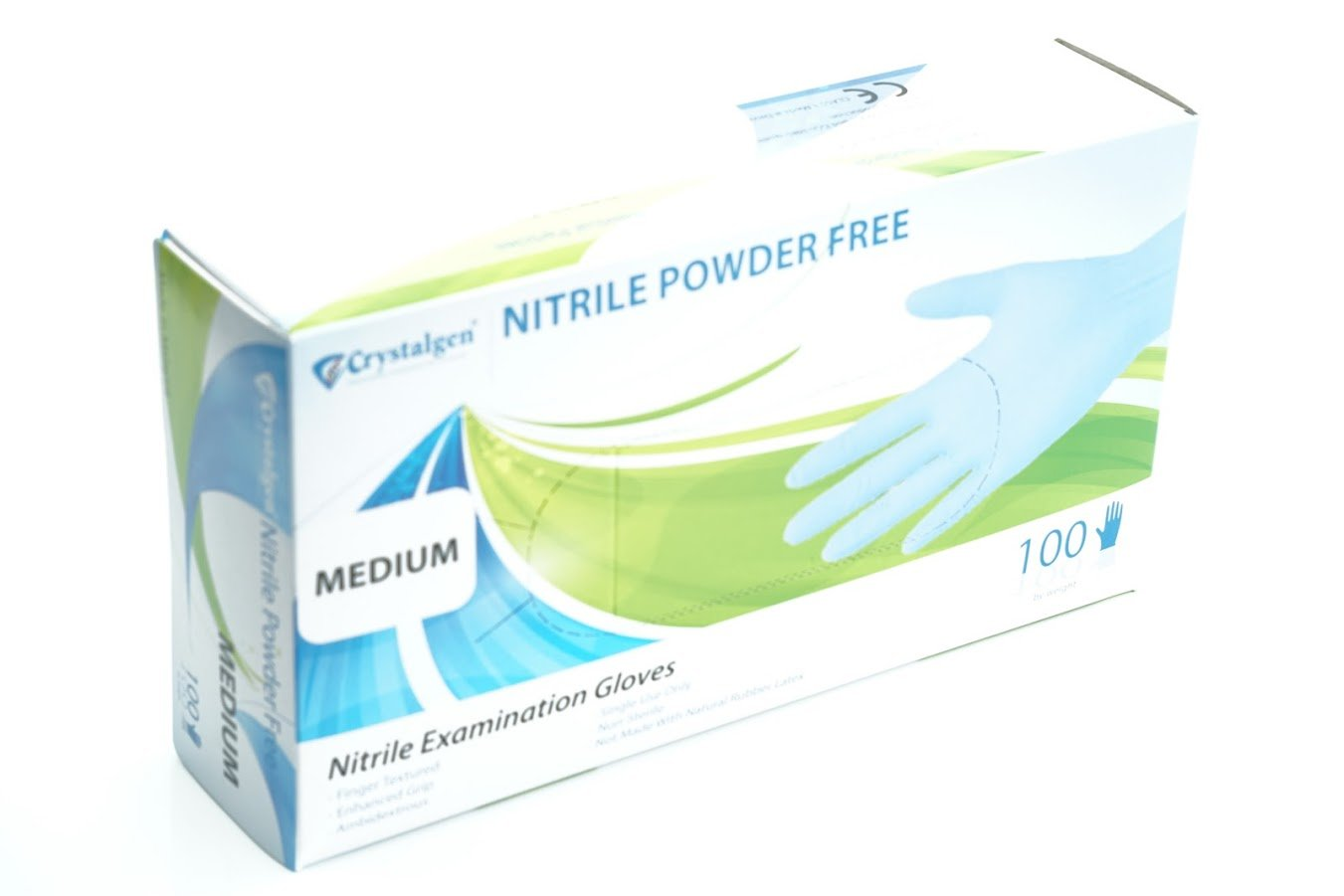 Crystalgen - Powder Free Nitrile Gloves
