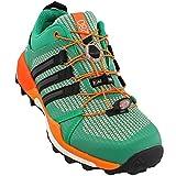 adidas outdoor Women's Terrex Skychaser Core Green/Black/Easy Orange 7.5 B US
