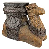 Design Toscano The Kasbah Camel Sculptural End Table For Sale