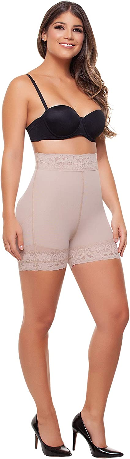 Fajitex Butt Lifter Shorts Levanta Cola Colombianos High-Compression Girdle Firm Control Panties 034650