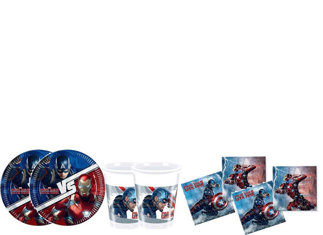 irpot Kit - A Fiesta de cumpleaños Avengers Civil War